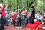 Праздник двора посвященный 60-летию дома по улице Вересковая 12